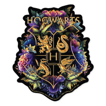 Load image into Gallery viewer, Harry Potter Howarts Crest - Watercolor Vinyl Sticker