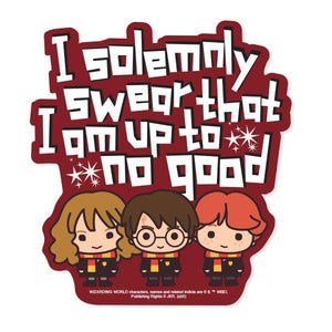 Harry Potter Solemnly Swear Chibi Vinyl Sticker