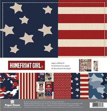 Load image into Gallery viewer, Homefront Girl Paper Crafting Kit