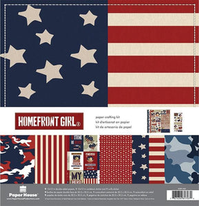 Homefront Girl Paper Crafting Kit