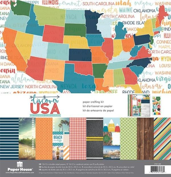 Discover USA Paper Crafting Kit