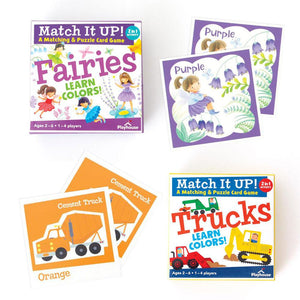 Learn Colors- Match Up Game Set