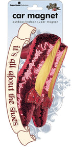 Wizard of Oz Ruby Slipper Car Magnet