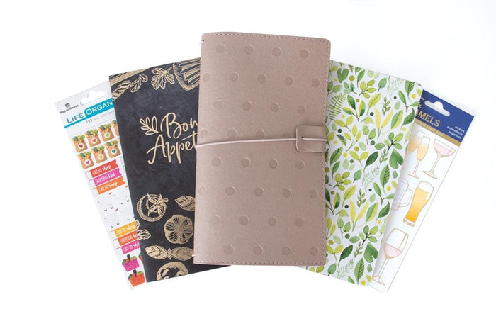 Meal Planning Journey Book Gift Set