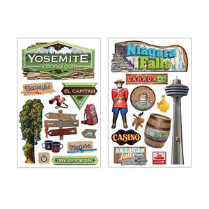 Travel The World Mega Sticker Bundle