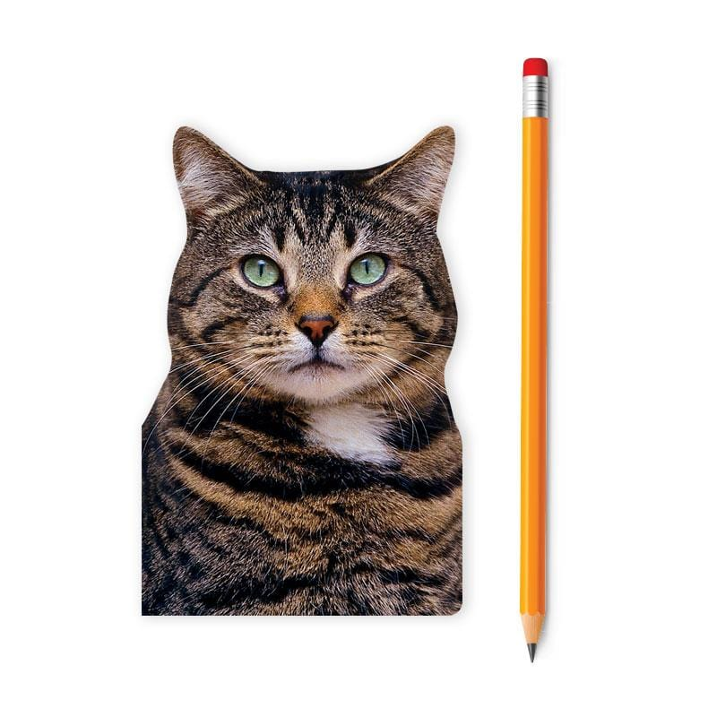 Brown Tabby Cat Mini Notebook