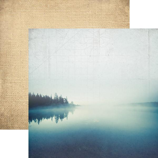 Morning at the Lake Double-Sided Paper