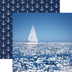 Sailing Away Double-Sided Paper