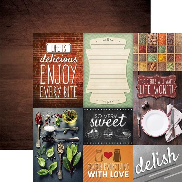 Delish-Tags Double Sided Paper