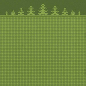 "deck the halls 12"" double sided scrapbook paper"