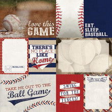 Load image into Gallery viewer, baseball tags double sided paper