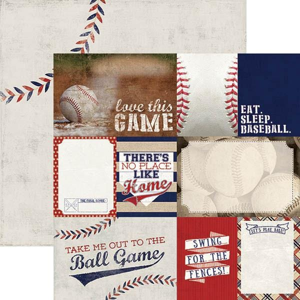 baseball tags double sided paper