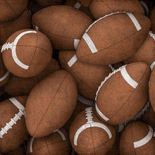 Load image into Gallery viewer, footballs double-sided paper