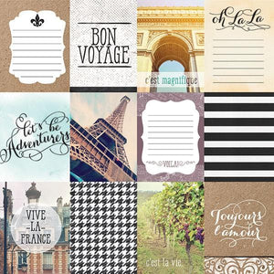 France Double Sided Paper