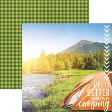 Load image into Gallery viewer, better when camping double sided paper