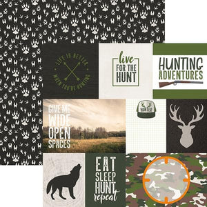 Hunting Tags Double Sided Paper