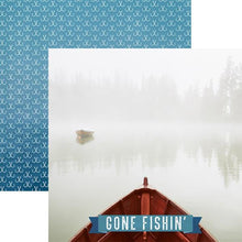 Load image into Gallery viewer, Gone Fishin' Double Sided Paper