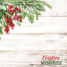 "Load image into Gallery viewer, Christmas Memories 12"" Double Sided Scrapbook Paper"