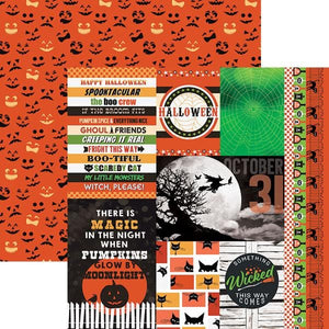 "Wicked Good Tags 12"" Double Sided Scrapbook Paper"