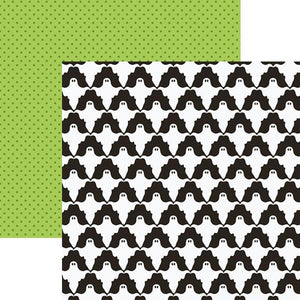 "Ghosts 12"" Double Sided Scrapbook Paper"