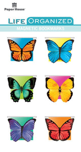 Butterflies Magnetic Bookmarks