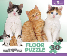 Load image into Gallery viewer, Kittens Floor Puzzle