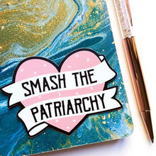 Load image into Gallery viewer, Smash the Patriarchy Vinyl Sticker