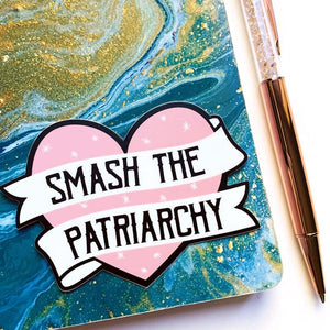 Smash the Patriarchy Vinyl Sticker