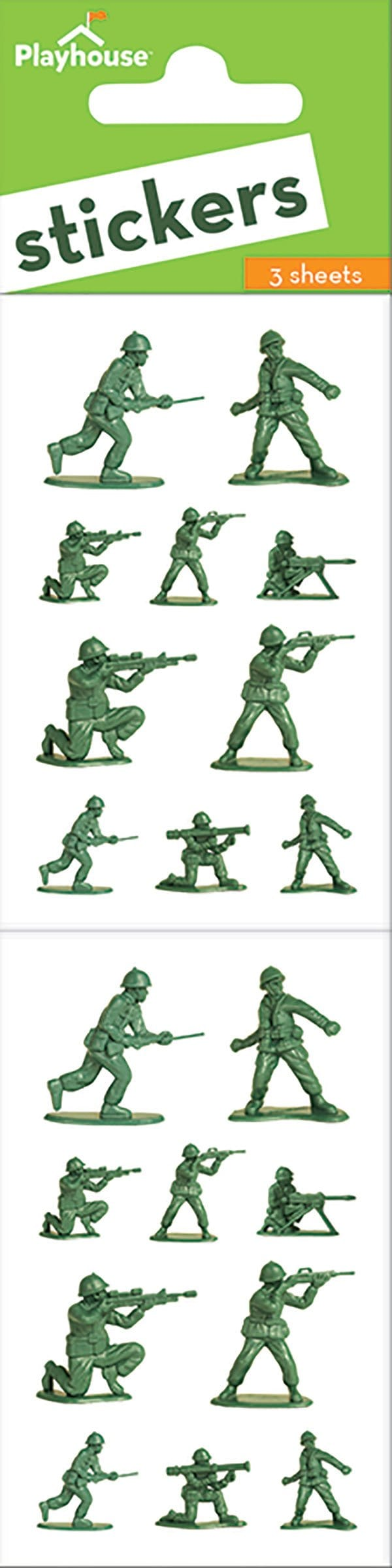 army men sticker pack