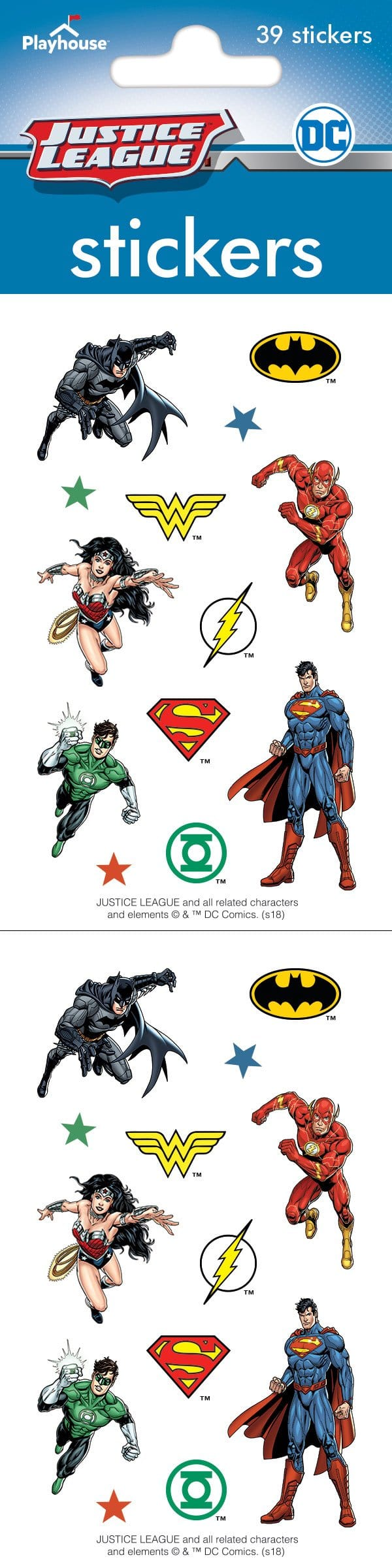 Justice League™ Sticker Pack
