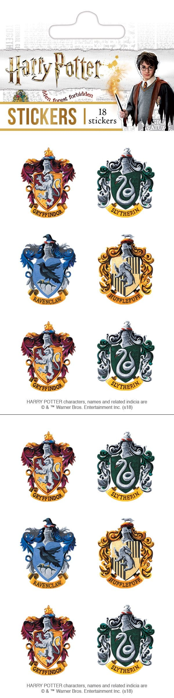 Harry Potter™ Crests Sticker Pack
