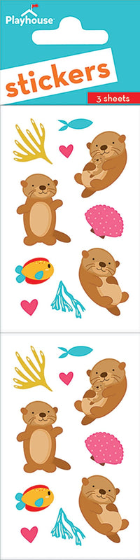 Otters Sticker Pack