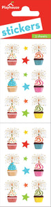 birthday cupcakes sticker pack