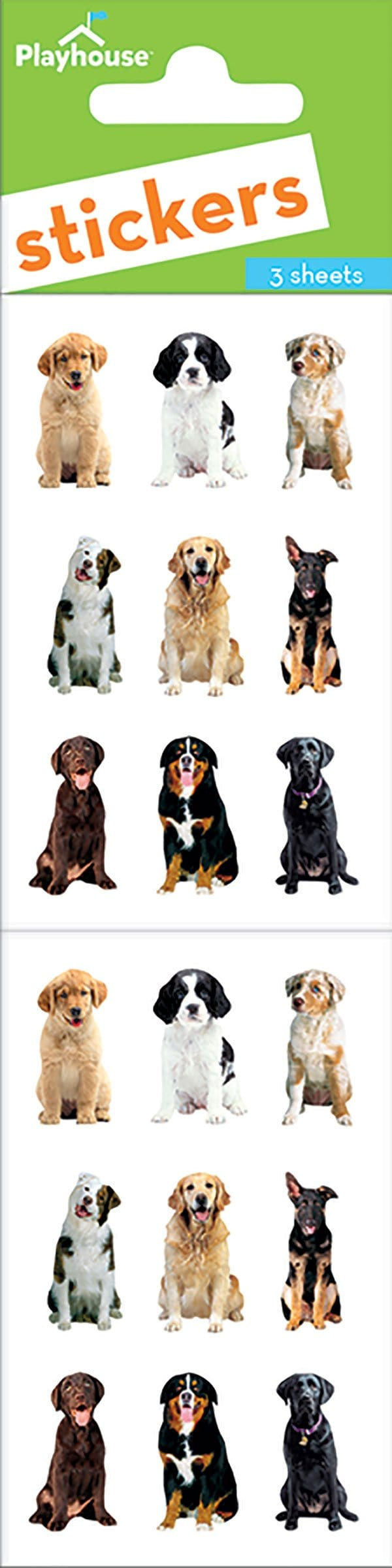 Mini Mixed Dogs Sticker Pack