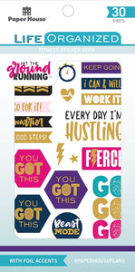 Fitness Sticker Book
