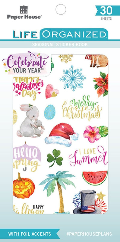 Seasonal Sticker Book