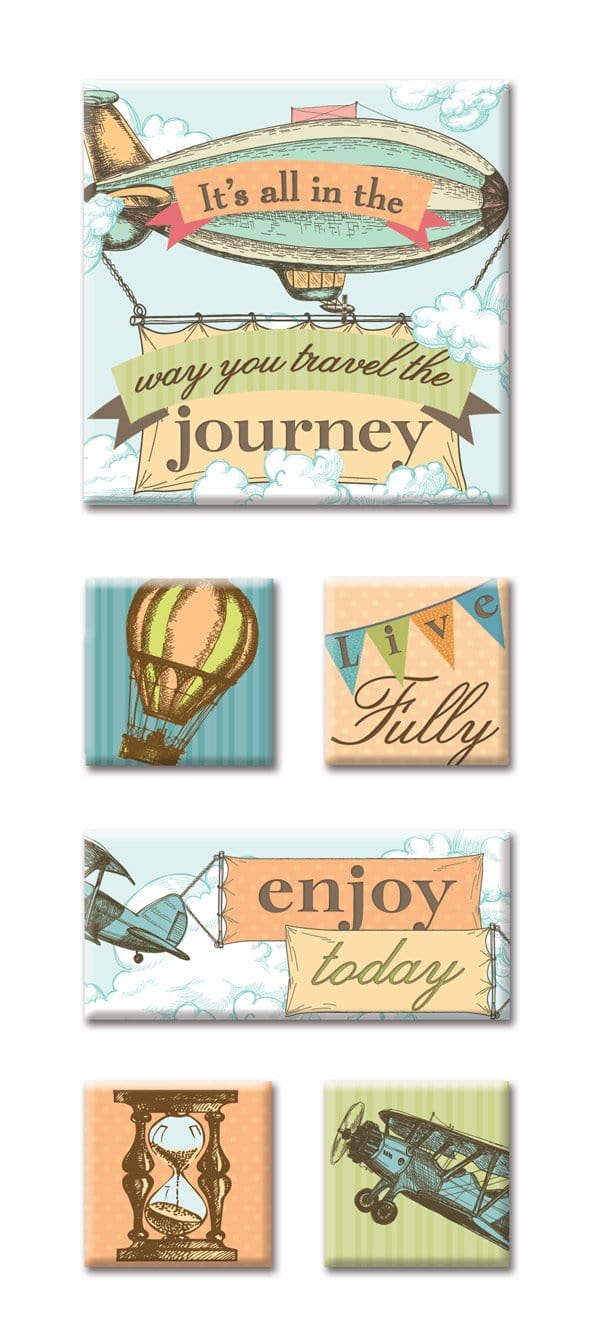 Journey Canvas Sticker