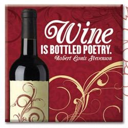 Wine Canvas Sticker