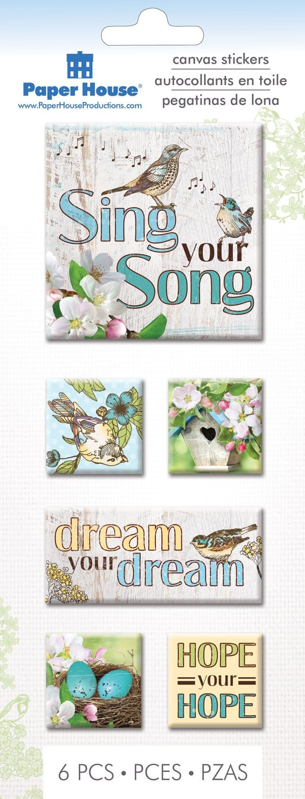 Sing Your Song Canvas Sticker