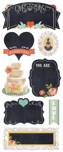 Wedding Chalkboard Sticker