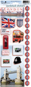London Cardstock Stickers