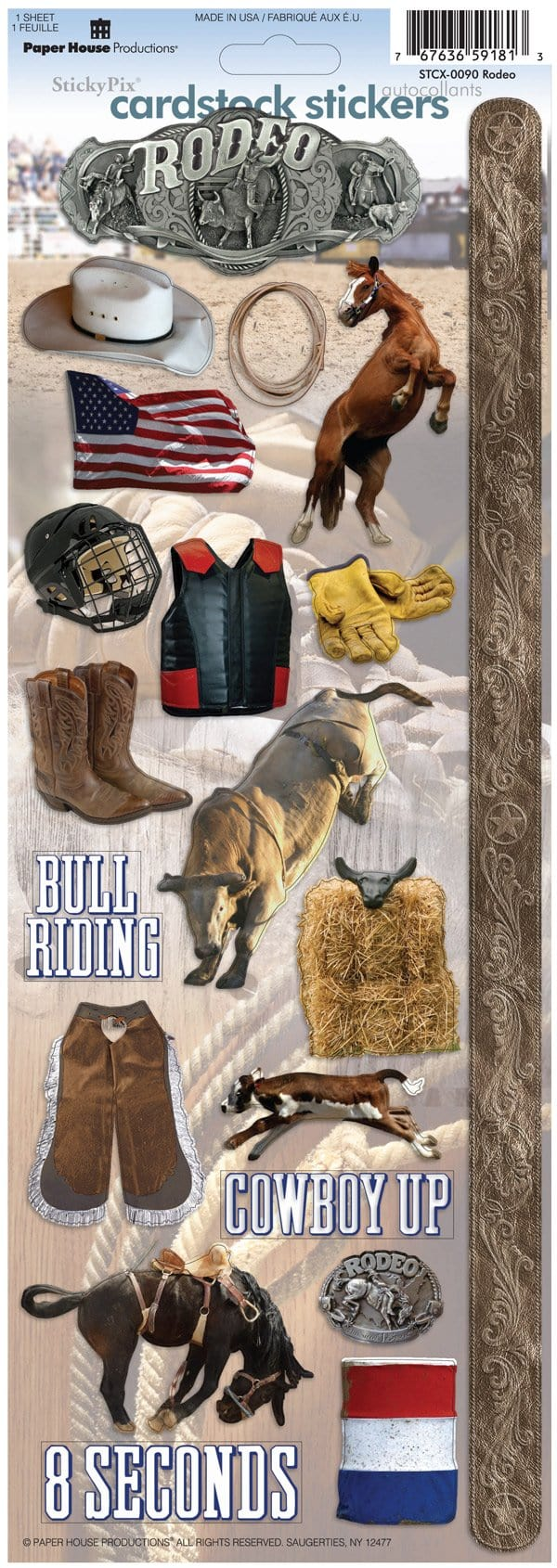 Rodeo Cardstock Stickers