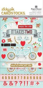 It Takes Two Cardstock Sticker Multipack