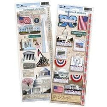 Load image into Gallery viewer, Washington DC Cardstock Sticker Value Pack