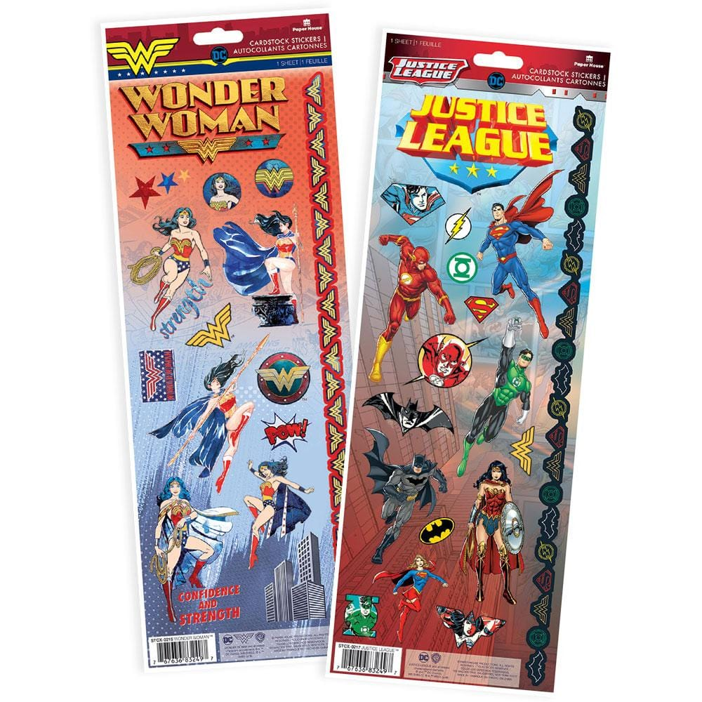 Wonder Woman™ Cardstock Sticker Value Pack