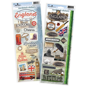London Cardstock Sticker Value Pack