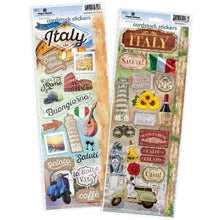 Load image into Gallery viewer, Italy Cardstock Sticker Value Pack