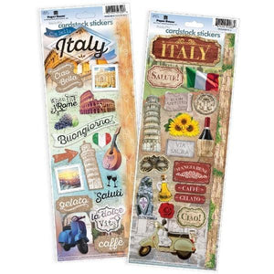 Italy Cardstock Sticker Value Pack