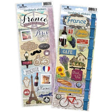 Load image into Gallery viewer, France Cardstock Sticker Value Pack