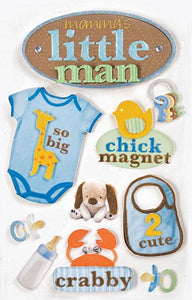 Little Man 3D Sticker